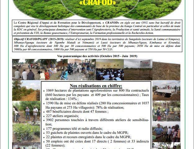 Projet de Gestion Améliorée des Paysages Forestiers